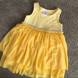 Hanna Andersson Yellow Toddler Dress